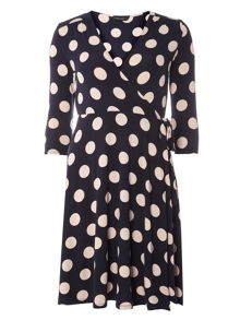 Dorothy Perkins Spot Wrap Dress