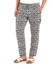 Wallis Tribal Print Jogger