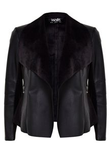 Wallis Black Waterfall Jacket