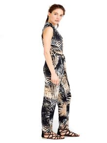 Wallis Palm Printed Jumpsuit