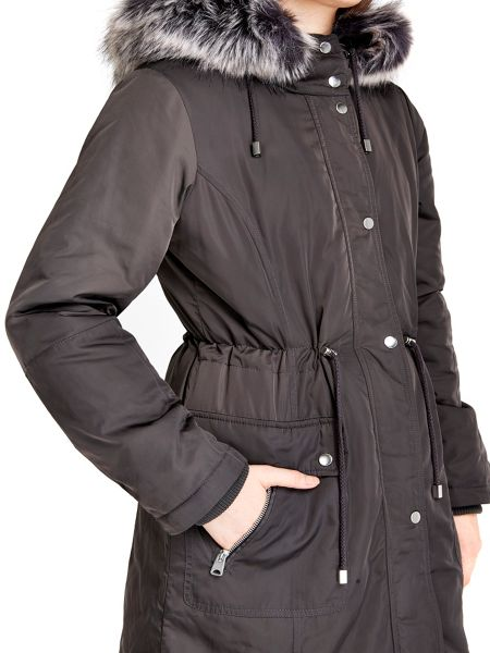 Wallis Grey Parka Jacket