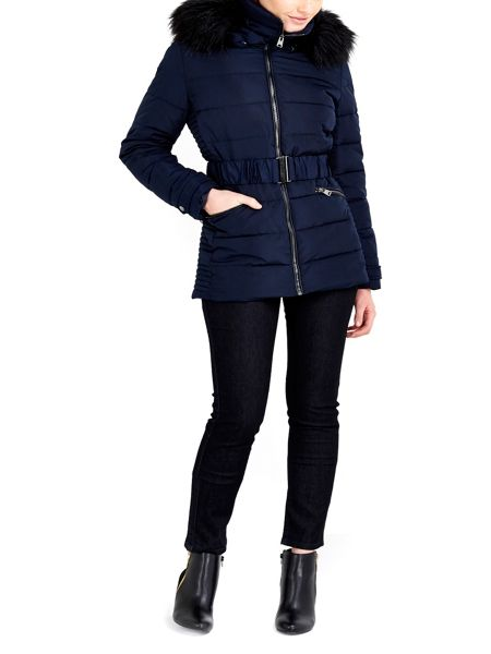 Wallis Ink Short Padded Coat