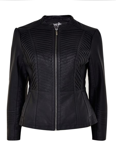 Wallis Black Gothic Biker Jacket