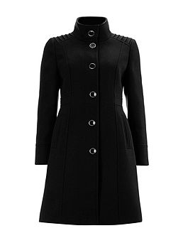 Black Funnel Coat