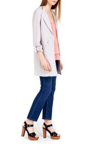 Wallis Grey Duster Jacket