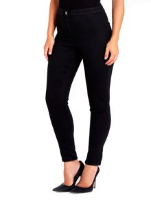 Wallis Black Erin High Waisted Jegging