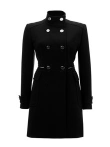 Wallis Black Double Crepe Jacket