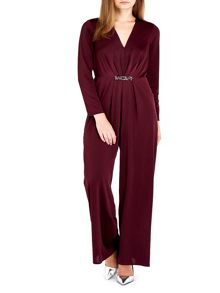 Wallis Petite Purple Embellished Jumpsuit