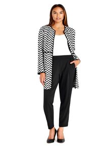 Wallis Black Pull On Trouser