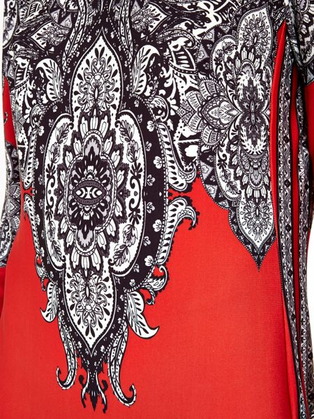 Wallis Paisley Printed Tunic Dress