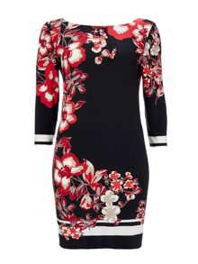 Wallis Rainforest Floral Tunic Dress