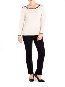 Wallis Petite Stone Button Jumper