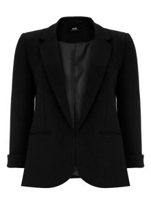 Wallis Black Ribbed Jacket