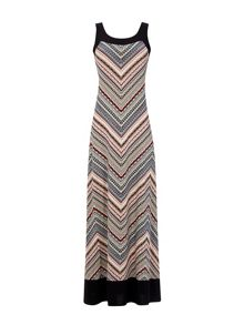 Wallis Tribal Printed Zig Zag