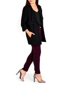 Wallis Black Longline Jacket