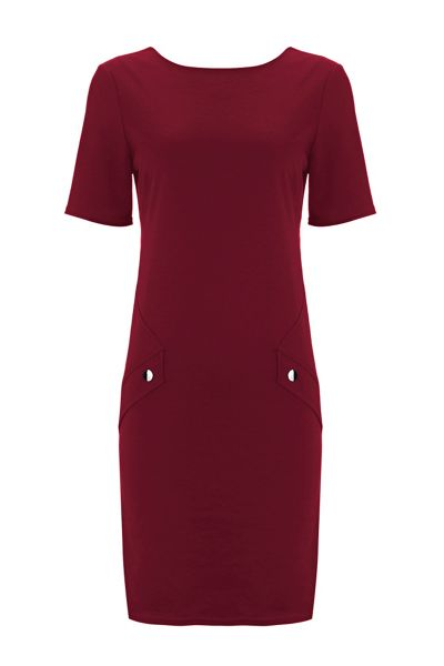 Wallis Petite Berry Pocket Dress