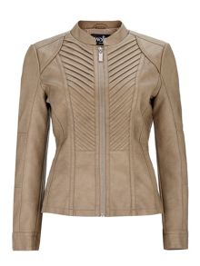 Wallis Honey Biker Jacket