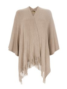 Wallis Neutral Super Soft Rib Wrap