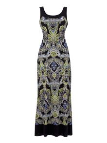 Wallis Paisley Printed Maxi Dress