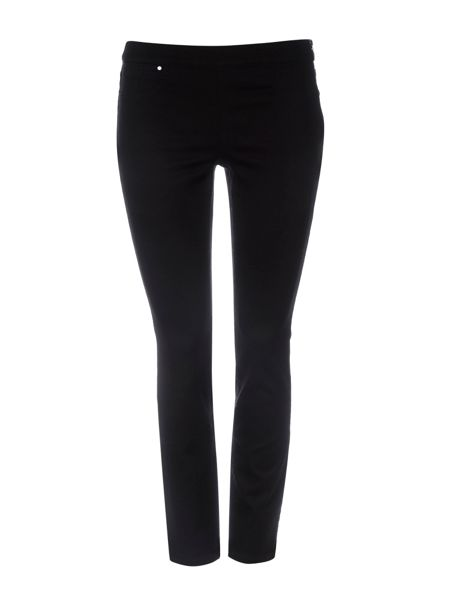 Wallis Petite Black Side Zip Trouser