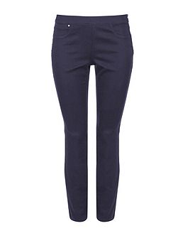 Petite Grey Side Zip Trouser