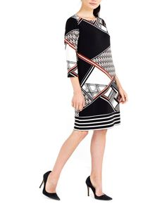 Wallis Geo Printed Tunic Dress