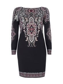 Wallis Paisley Print Tunic dress