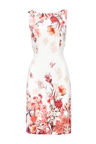 Wallis Petite Pink Floral Shift Dress