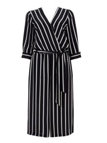 Wallis Black Pinstripe Jumpsuit