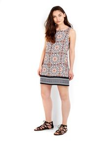 Wallis Moroccan Paisley Print Dress