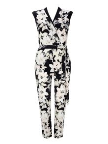 Wallis Printed Jumpsuit
