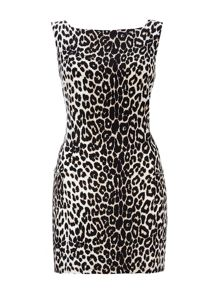 Wallis Petite Animal Pocket Shift Dress