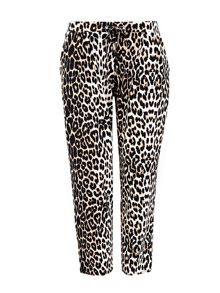 Wallis Petite Animal Printed Trouser