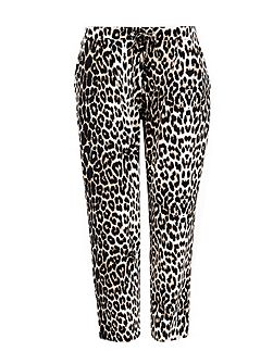 Petite Animal Printed Trouser