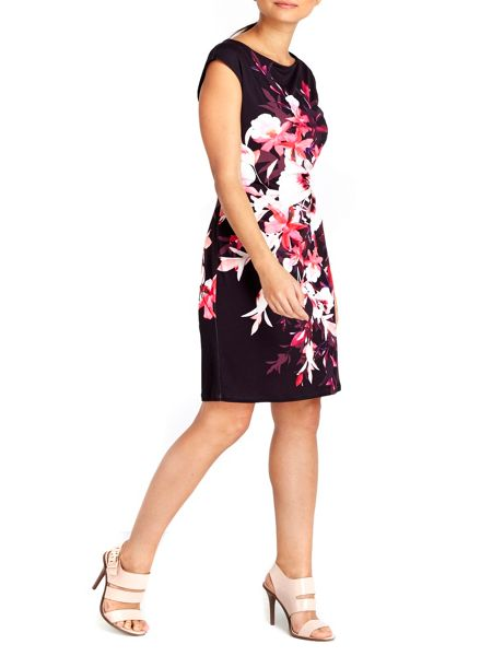 Wallis Petite Pansy Ruche Side Dress