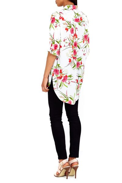 Wallis Floral Printed Shirt