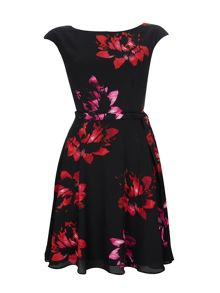 Wallis Pink Floral Dress