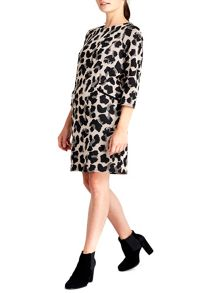 Wallis Animal Jacquard Dress