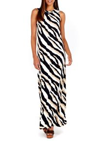 Wallis Zebra Printed Maxi Dress