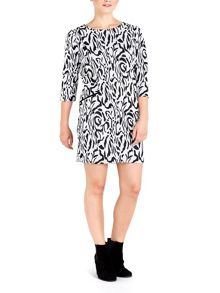 Wallis Petite Animal Print Dress