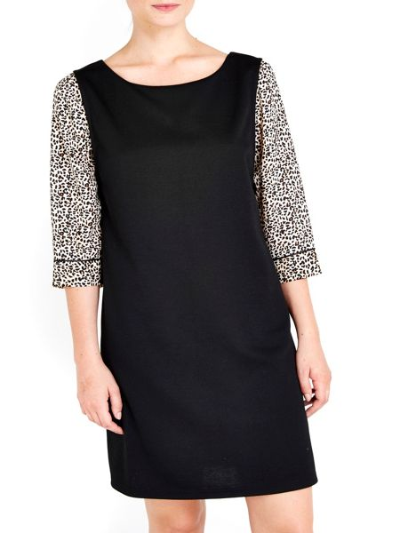 Wallis Petite Animal Pinny Dress