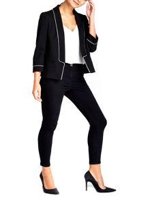 Wallis Petite Black Tailored Jacket