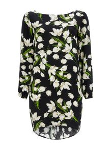 Wallis Lily Floral Tunic Dress