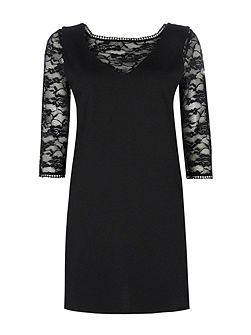 Petite Lace Pinny Dress