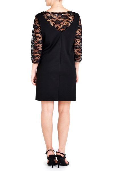 Wallis Petite Lace Pinny Dress