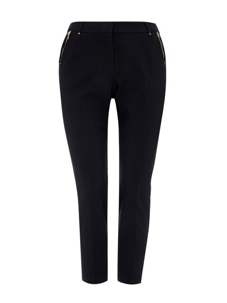 Wallis Petite Black Tapered Trouser