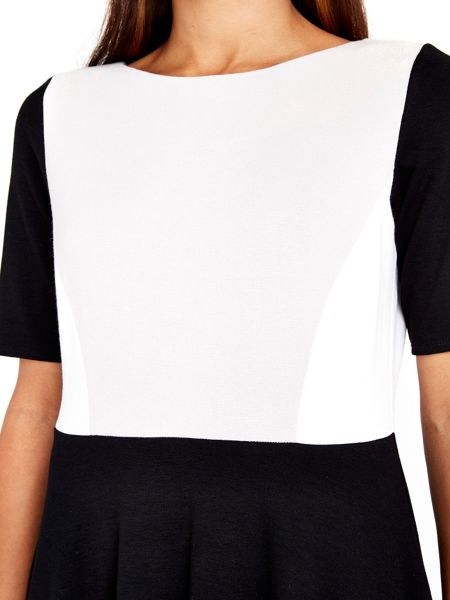 Wallis Colour Block Fit and Flare