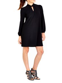Wallis Keyhole Swing Dress