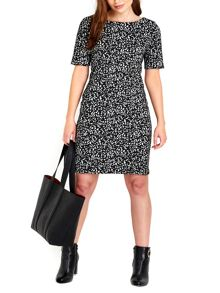 Wallis Jacquard Bodycon Dress