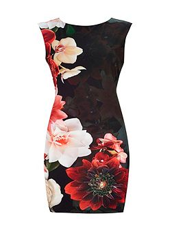 Petite Floral Shift Dress